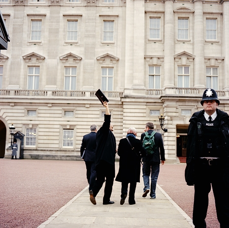 Delivering our petition to Buckingham Palace