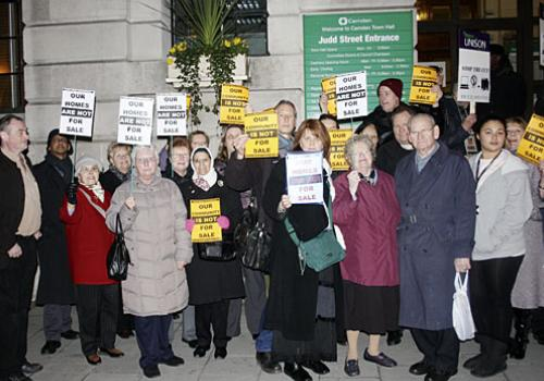 Delegation to Camden Town Hall