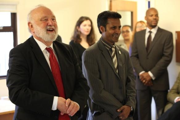 Frank Dobson MP &  Cllr Nasim Ali